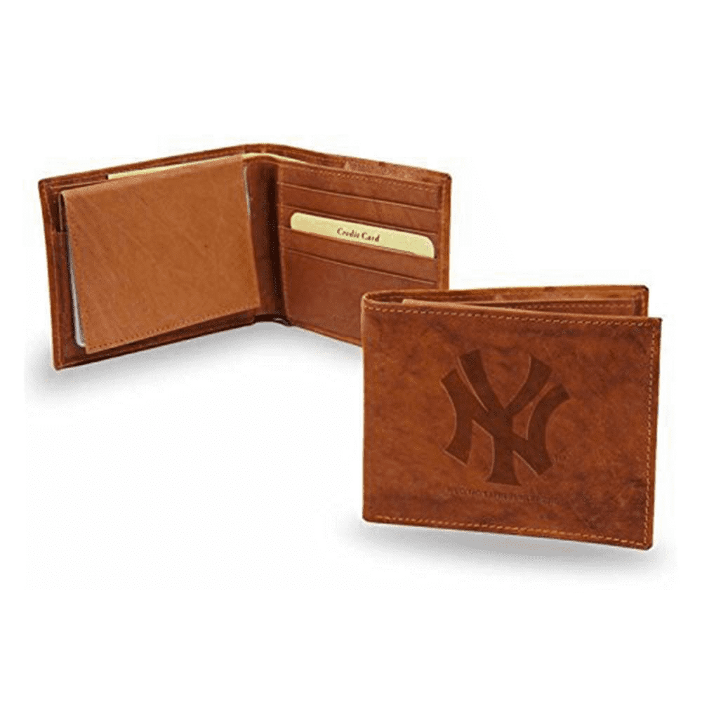 New York Yankees Leather Wallet