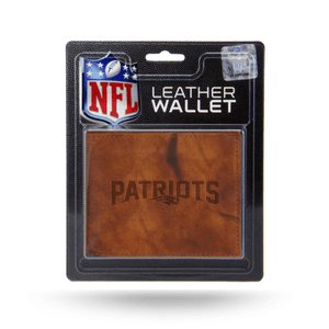 New England Patriots Leather Wallet