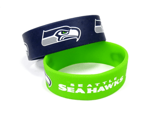 Seattle Seahawks 2 Pack Bracelets
