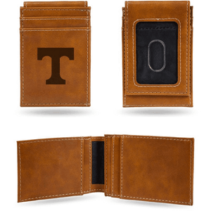 Tennessee Volunteers Laser Engraved Front Pocket Wallet
