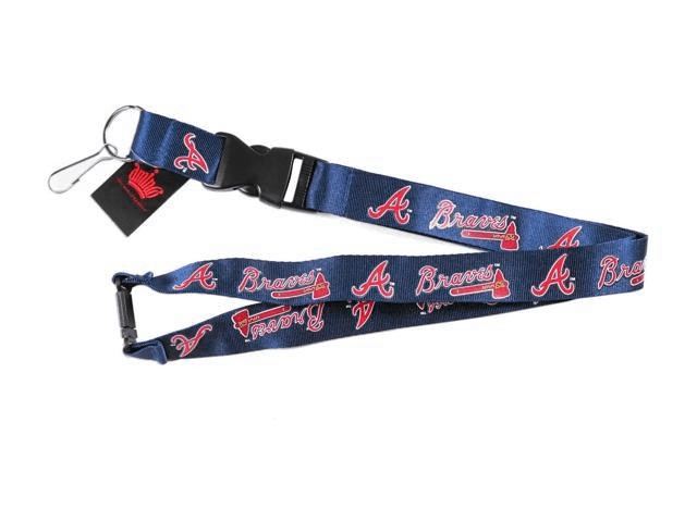Atlanta Braves Baseball Lanyard