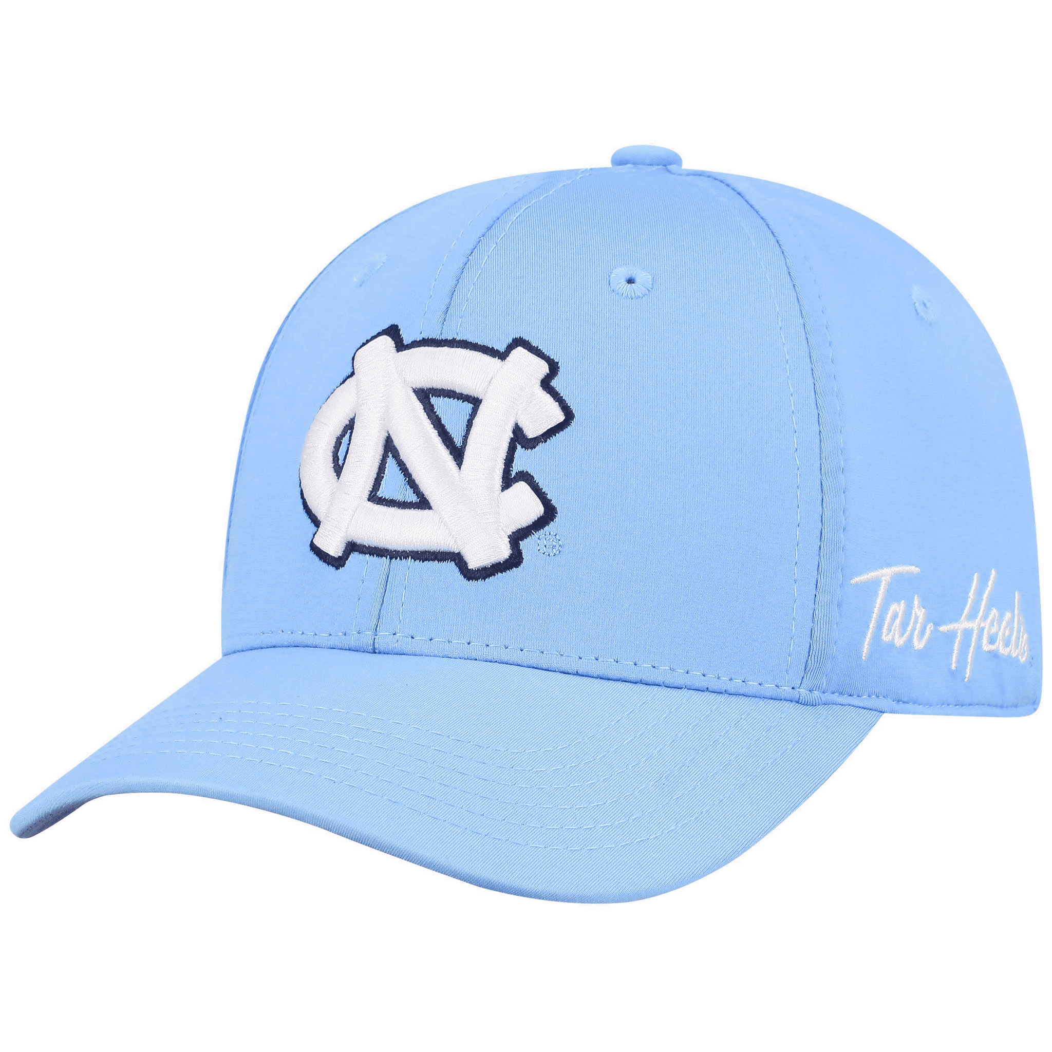 North Carolina Tar Heels One Fit LT Blue Phenom Hat