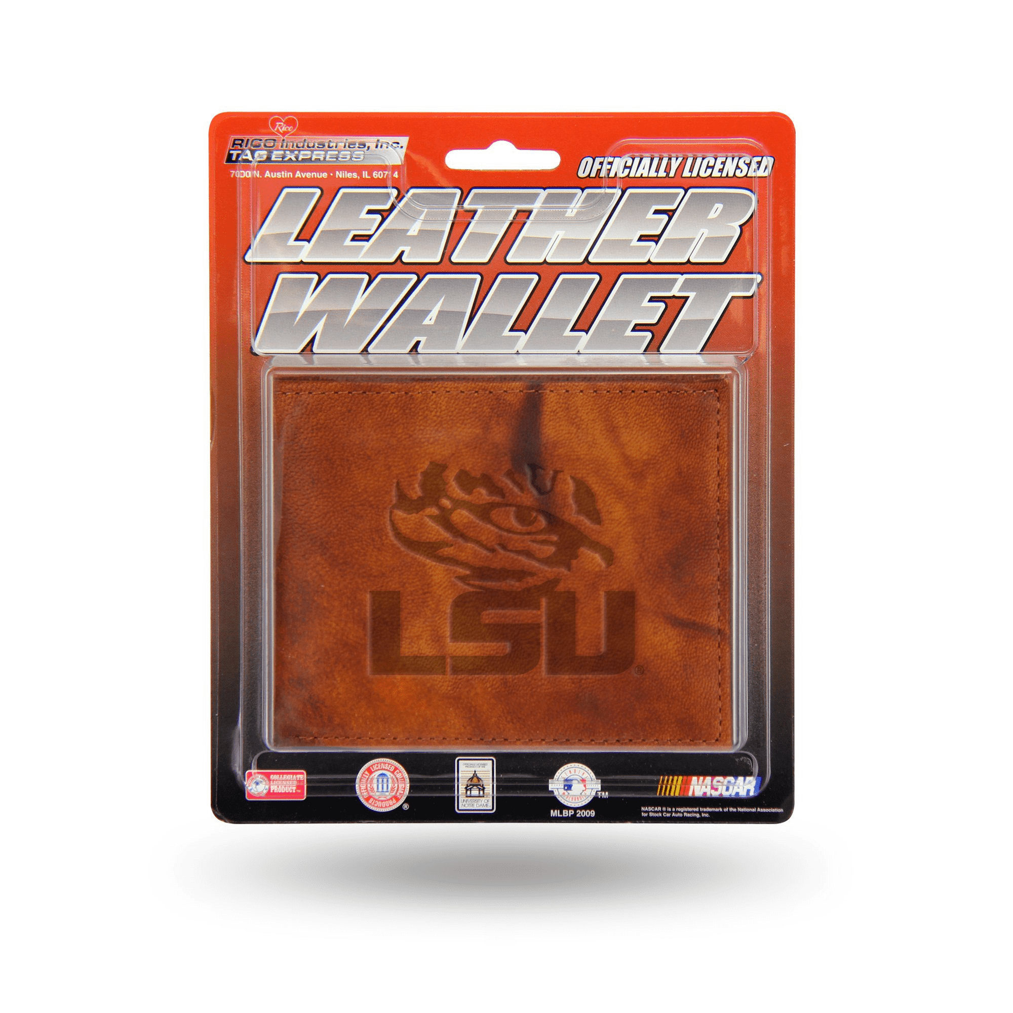 LSU Tigers Leather Wallet