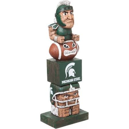Michigan State Spartans Totem Pole