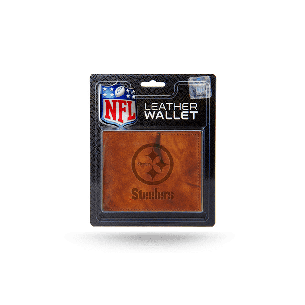 Pittsburgh Steelers Leather Wallet