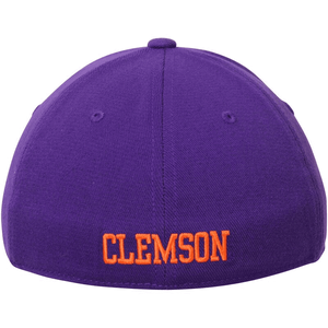 Clemson Tigers Premium Collection Memory Fit Purple Hat