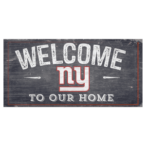 New York Giants Welcome Distressed Sign