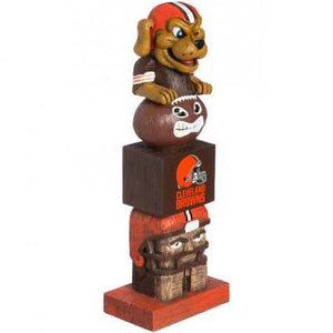 Cleveland Browns Totem Pole
