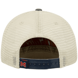 Ole Miss Rebels Adjustable Three-Tone Offroad Hat