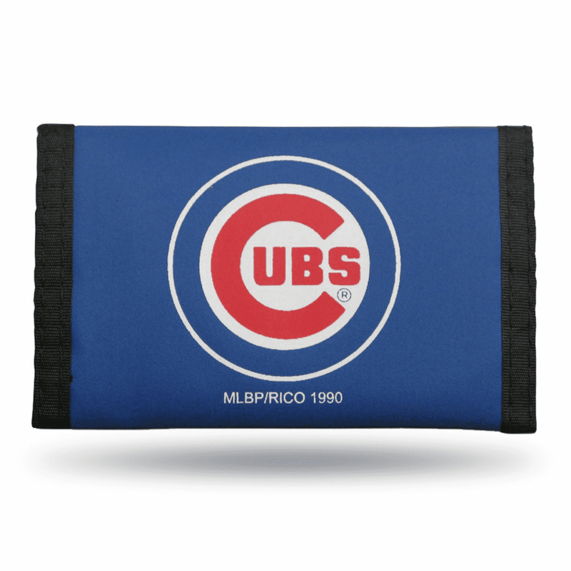 Rico Chicago Cubs Wallet Nylon Trifold Blue