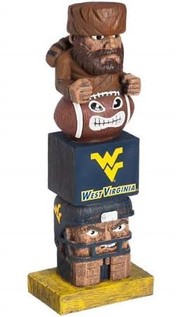 West Virginia Mountaineers Totem Pole