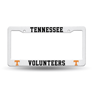 Tennessee Volunteers Plastic License Plate Frame