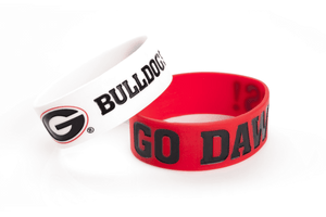 Georgia Bulldogs 2 Pack Bracelets