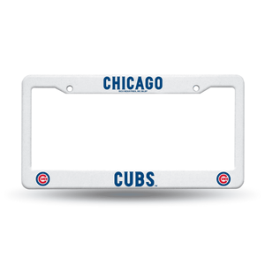 Chicago Cubs Plastic License Plate Frame