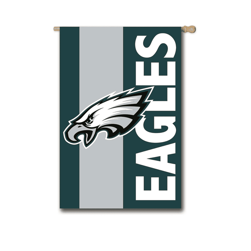 Evergreen Philadelphia Eagles Embellished House Flag