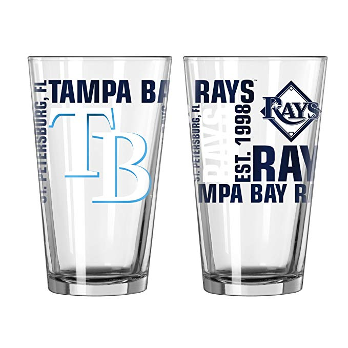 Tampa Bay Rays Pint Glass