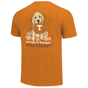 Tennessee Volunteers Game Day Frisbee Short Sleeve  Orange T-Shirt