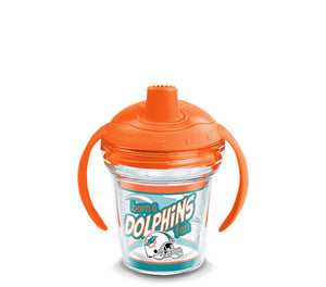 Miami Dolphins Born A Fan Sip 6 Oz Sippy Cup