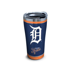 Copy of MLB Detroit Tigers Home Run Stainless Steel With Hammer Lid 20 Oz