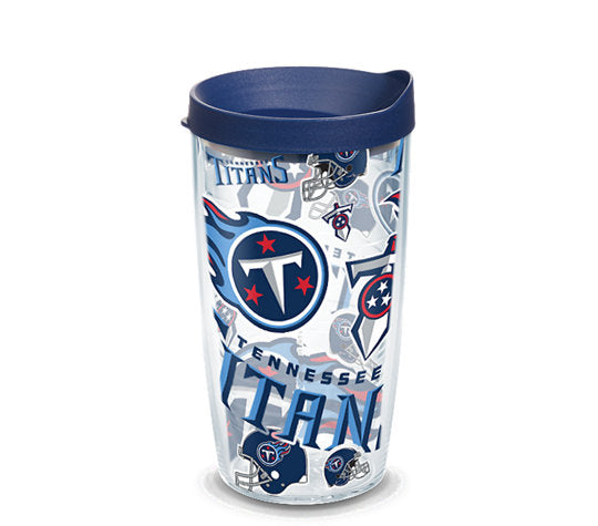 Tennessee Titans All Over 16 Oz Tumbler