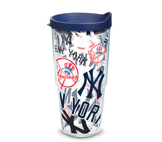 New York Yankees All Over 24 Oz Tumbler