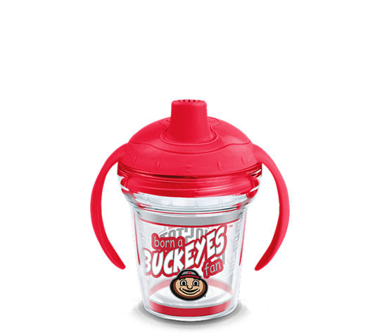 Ohio State Buckeyes Born A Fan Sip 6 Oz Sippy Cup