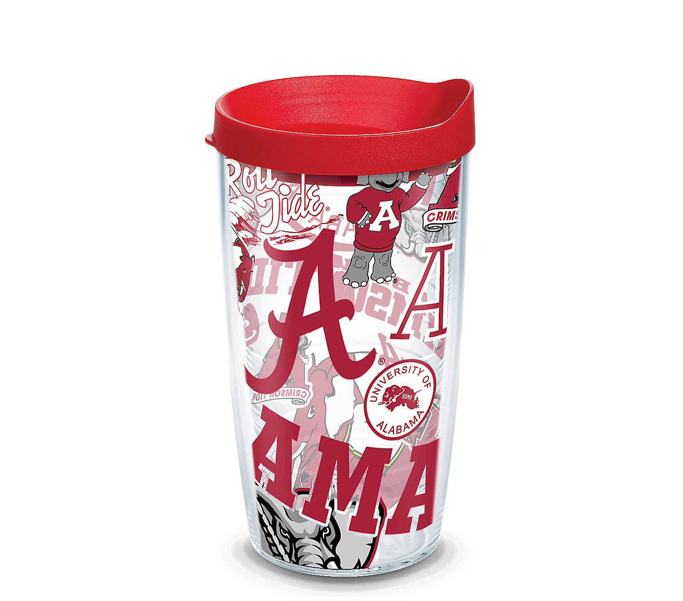 Alabama Crimson Tide All Over 16 Oz Tumbler