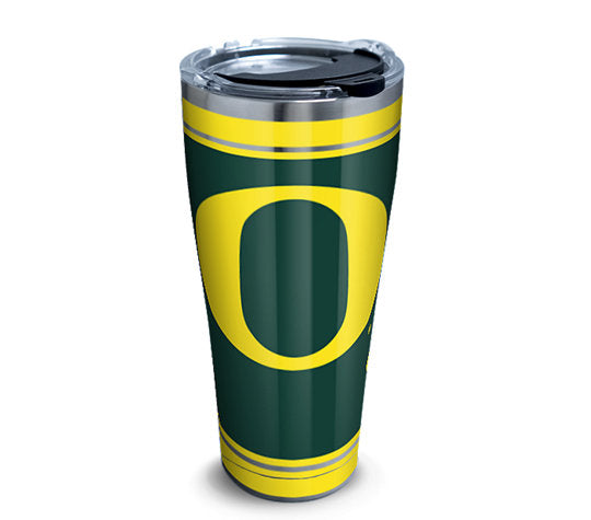 Oregon Ducks Campus Stainless Steel With Hammer Lid 30 Oz Tumbler