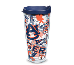 Auburn Tigers All Over 24 Oz Tumbler