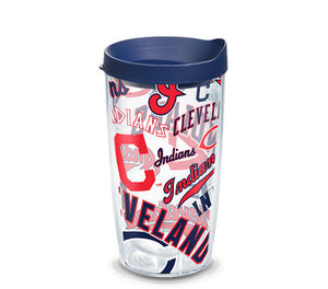 Cleveland Indians All Over 16 Oz Tumbler