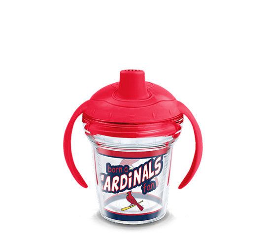 St. Louis Cardinals Born A Fan Sip 6 Oz Sippy Cup