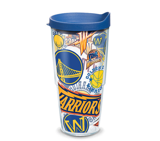 Golden State Warriors All Over 24 Oz Tumbler
