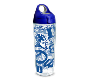 Duke Blue Devils All Over 24 Oz Water Bottle