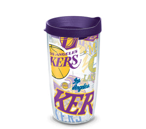Los Angeles Lakers All Over 16 Oz Tumbler