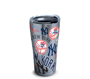 New York Yankees All Over 20 Oz Tumbler