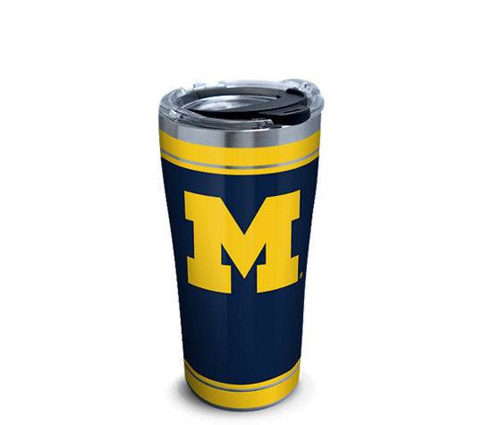 Michigan Wolverines Campus Tumbler 20 Oz