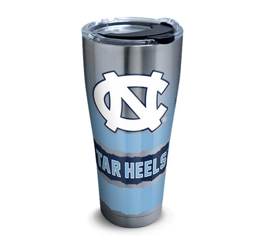 North Carolina Tar Heels Knockout 30 Oz Tumbler