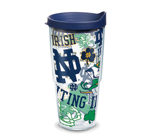 Notre Dame Fighting Irish All Over 24 Oz Tumbler
