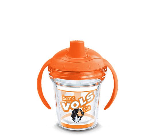 Tennessee Volunteers Born A Fan Sip 6 Oz Sippy Cup
