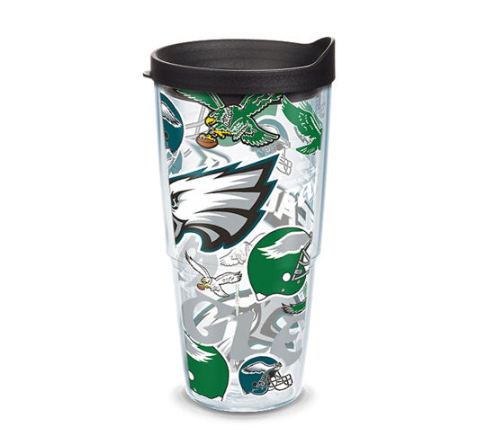 Philadelphia Eagles All Over 24 Oz Tumbler