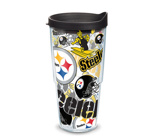 Pittsburgh Steelers All Over 24 Oz Tumbler