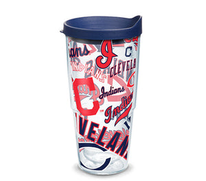 Cleveland Indians All Over 24 Oz Tumbler