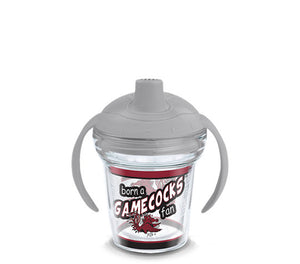 South Carolina Gamecocks Born A Fan Sip 6 Oz Sippy Cup
