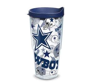 Dallas Cowboys All Over 24 Oz Tumbler
