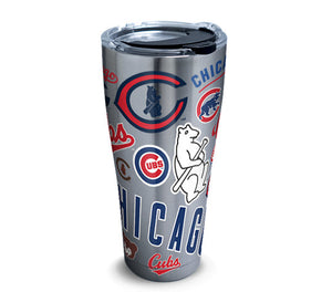 Chicago Cubs All Over 30 Oz Tumbler