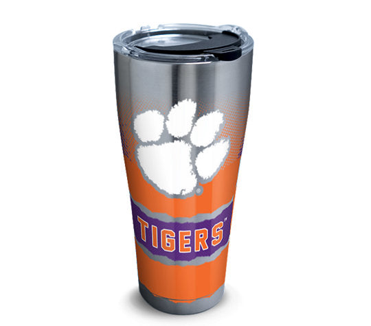 Clemson Tigers Knockout 30 Oz Tumbler