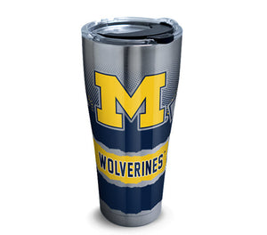 Michigan Wolverines Knockout 30 Oz Tumbler
