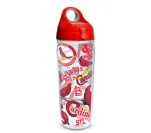 St. Louis Cardinals All Over 24 Oz Water Bottle