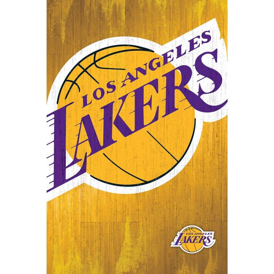 Trends International Los Angeles Lakers Logo Wall Poster 22.375 x 34
