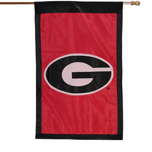 Georgia Bulldogs 28'' x 44'' Team Logo Applique Flag-